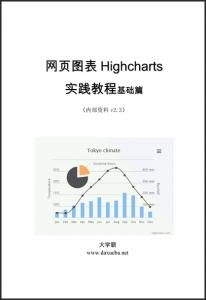 网页图表Highcharts实践教程基础篇大学霸内部资料
