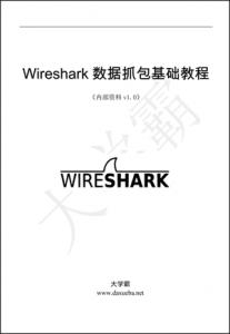 Wireshark数据抓包基础教程大学霸内部资料